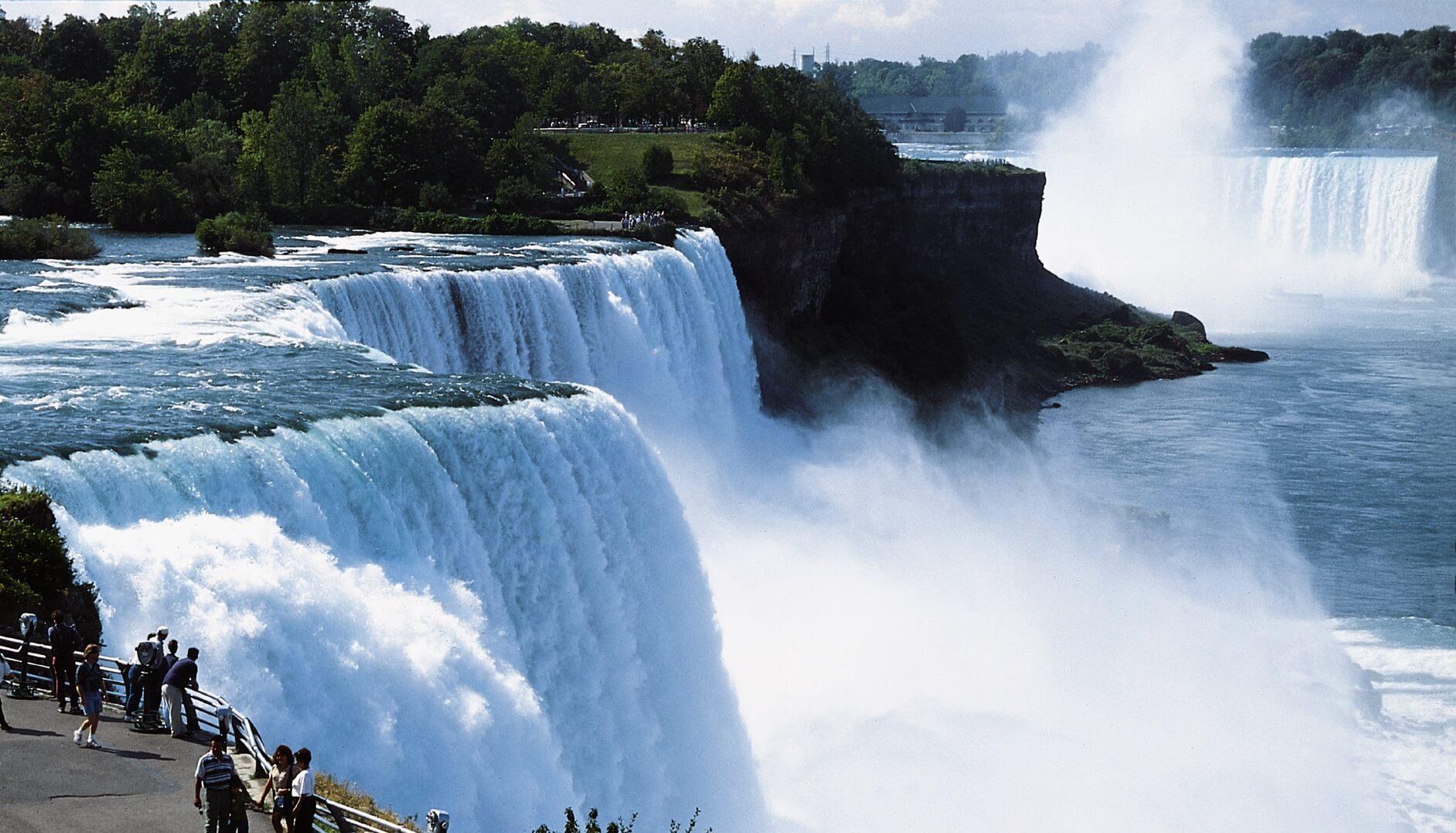 Les chutes de Niagara & Toronto