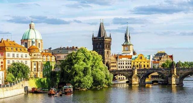 Les beautés du Danube et Prague